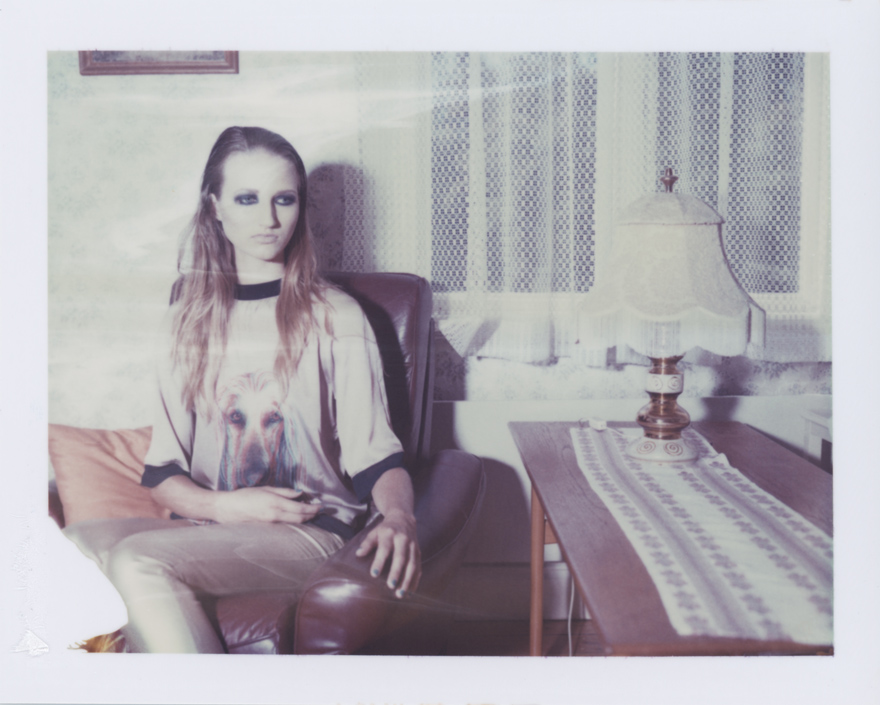 Tape Magazine polaroid editorial shot in Växjö by Fotograf Daniel K. Johansson